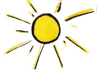 sol tecknad