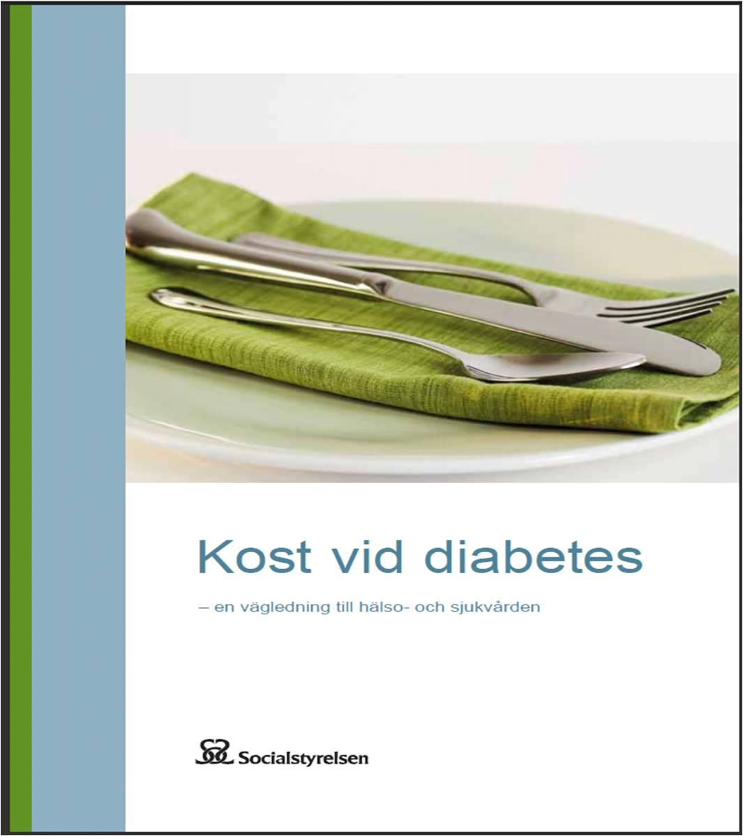 Socialstyrelsen kost vid diabetes