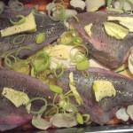 fisk i ugn med rotfrukter