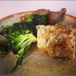 smörstekt torsk broccoli jordärtskocka