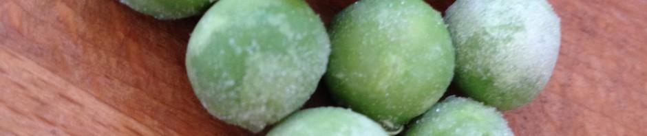 gröna ärtor 1