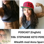 Stephanie Keto Person 2 podcast 4health med anna sparre