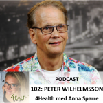Peter Wilhelmsson podcast 4health med anna sparre 3