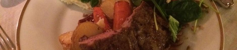 rött kött middag