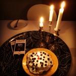 tårta choklad ljus
