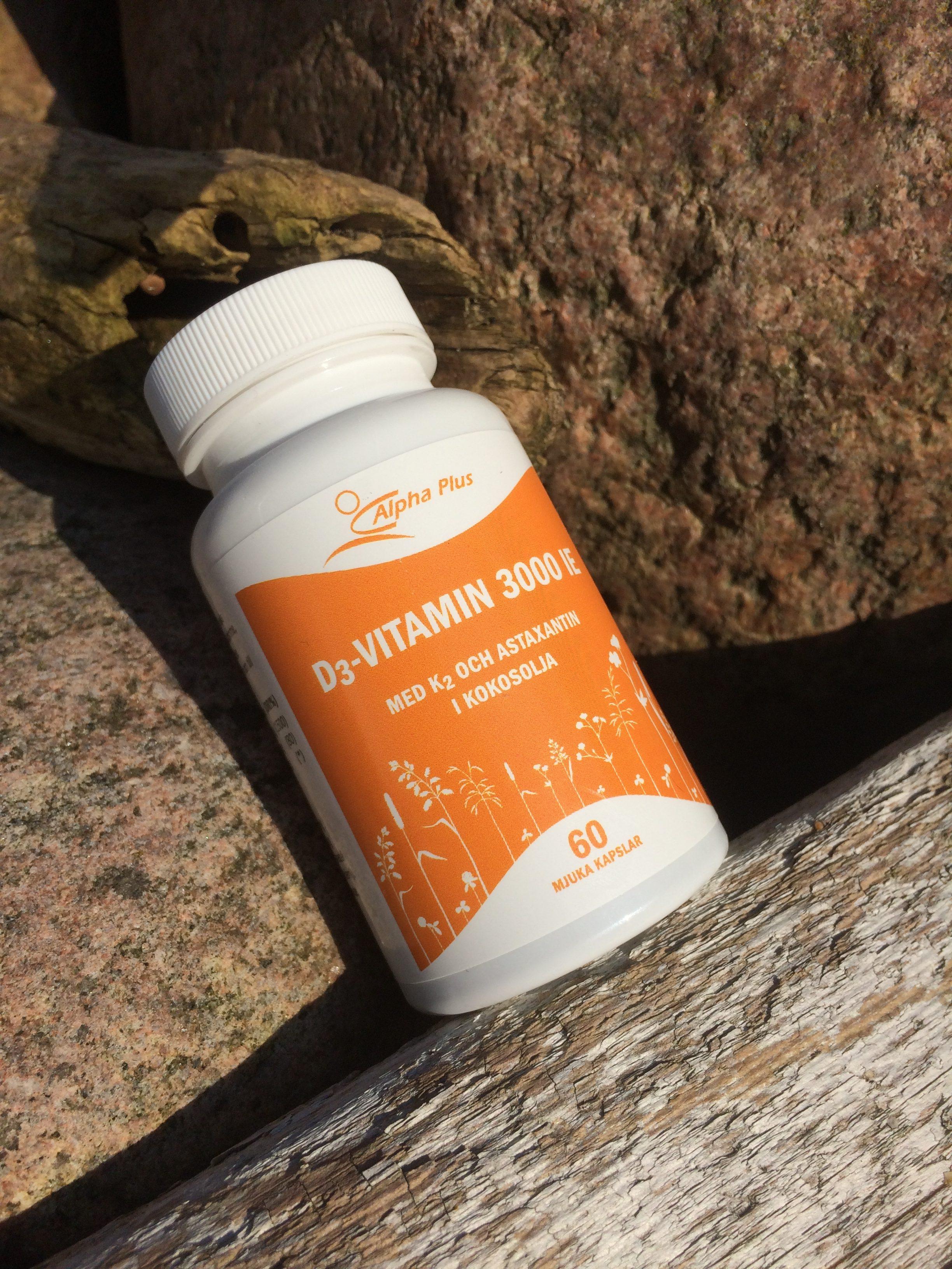 d vitamin är bra för