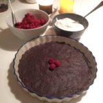 Himmelsk chokladkaka – fri från gluten, mejerier och ägg